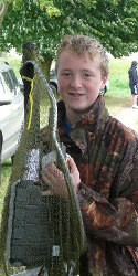 Josh, runner-up Tring Anglers