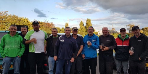Qualifying anglers, Leeds & Liverpool Canal