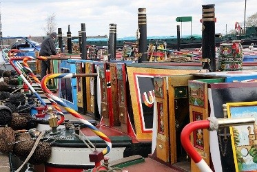 Easter Boat Gathering at the National Waterways Museum Ellesmere Port