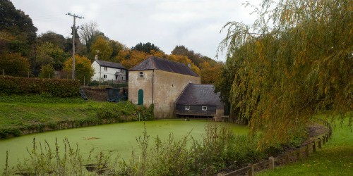 Claverton pumping station pond courtesy Terry Hewlett