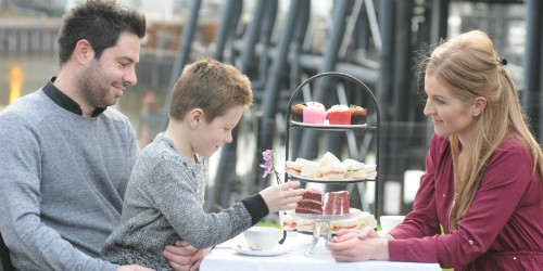 Family afternoon tea
