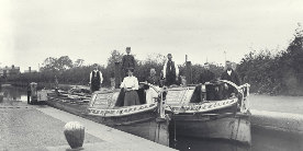 Boatmen on the Grand Union Canal