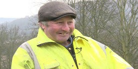 Barry Whitelock in hi-vis