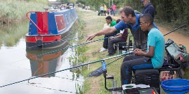 Angling on the canal