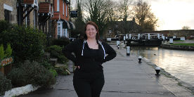 From couch to canal: Sarah's half marathon journey