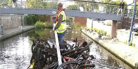 Canal Clean Up Stalybridge