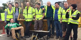Volunteers on the Aire & Calder Navigation