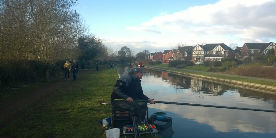 Angling match results
