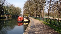 Photo of regents canal next to victoria park in hackney