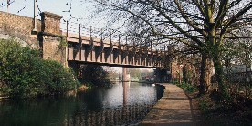 photo of regents canal in Mile End
