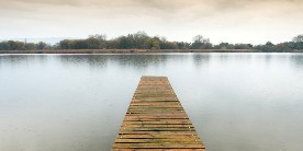 Photo of a jetty at Weston Turville