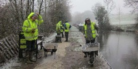 Disley Towpath Action Group, canal adoption