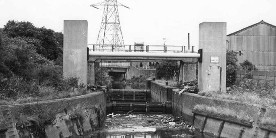 Carpenters Road Lock in the 1970s