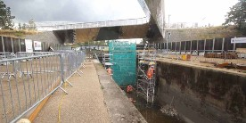 Restoration of Carpenters Road Lock