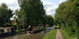 Coventry Canal, Armington courtesy Joanne Rollason