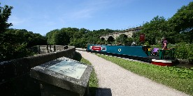 Marple Aqueduct on the Peak Forest Canal