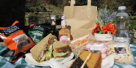 Afternoon tea and picnic, Standedge Tunnel