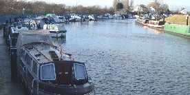 Moorings at Torksey Lock