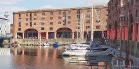 Boats in Albert Dock