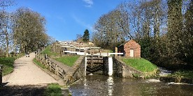 The Staircase Locks at Bingley