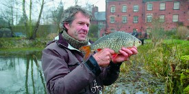 John Bailey and a 2lb roach