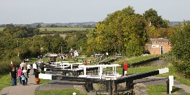 Foxton Locks and the boilerhouse