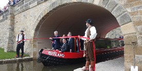 Official re-opening of Elland Bridge