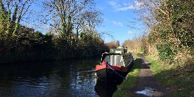 Grand Union Canal in London, courtesy of Go Jauntly