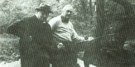 Churchill and Roosevelt fishing