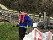 Marcus Hill-Jones leads Turnerwood Towpath Taskforce on Chesterfield Canal