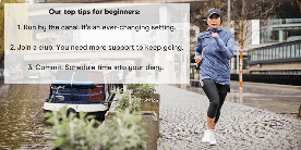 Our top tips for running