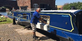 Alex, volunteer lock keeper