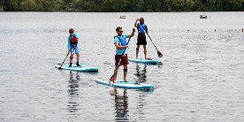 Paddleboarding with Maizu Sup, Daventry
