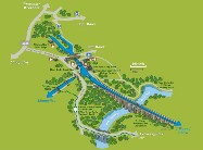 Pontcysyllte World Heritage Site map 2018