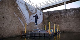 Lucy McLauchlan at Diglis Canal Basin