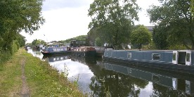 Boat builders on the Cannock Extension Canal