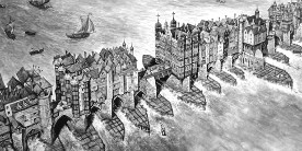 17th Century London Bridge