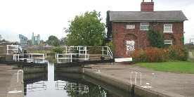 River Aire, Bank Dole Lock, Knottingley