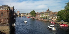 River Ouse in York
