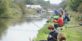 National Junior Championships on the Shropshire Union Canal