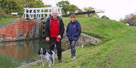 Liz & Alistair on the Kennet & Avon Canal