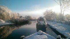 Shropshire Union, winter 2017, courtesy of Imogen Nailor
