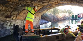Bramcote Rd bridge repairs
