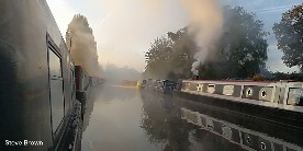 Grand Union Canal by Steve Brown