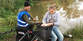 Morgan Dowman: October 2019 Let's Fish! at Willaston