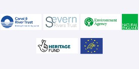 Unlocking the Severn project partner logos