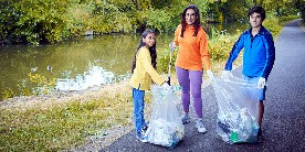 Saira Khan from ITV's Loose Women supports our Plastics Challenge