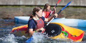 Stay safe by washing your hands after taking part in water sports