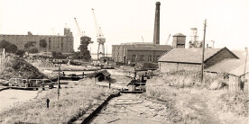Site of the National Waterways Museum in 1971 1971
