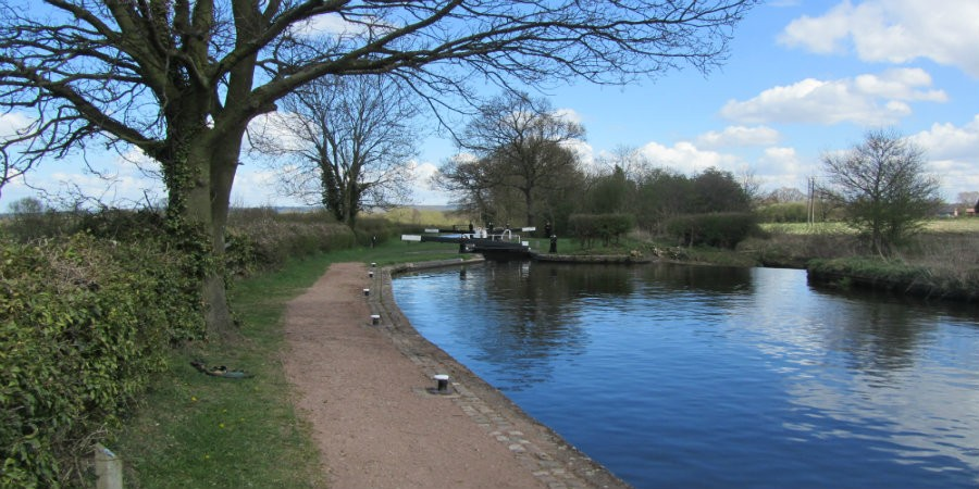 Kiln Lock on Staffordshire and Worcestershire Canal